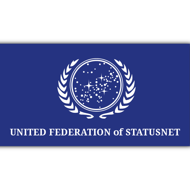 Flag of the United Federation of StatusNet