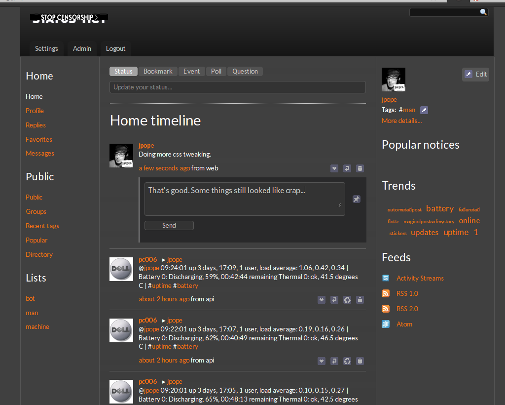 v0.3 screenshot 1